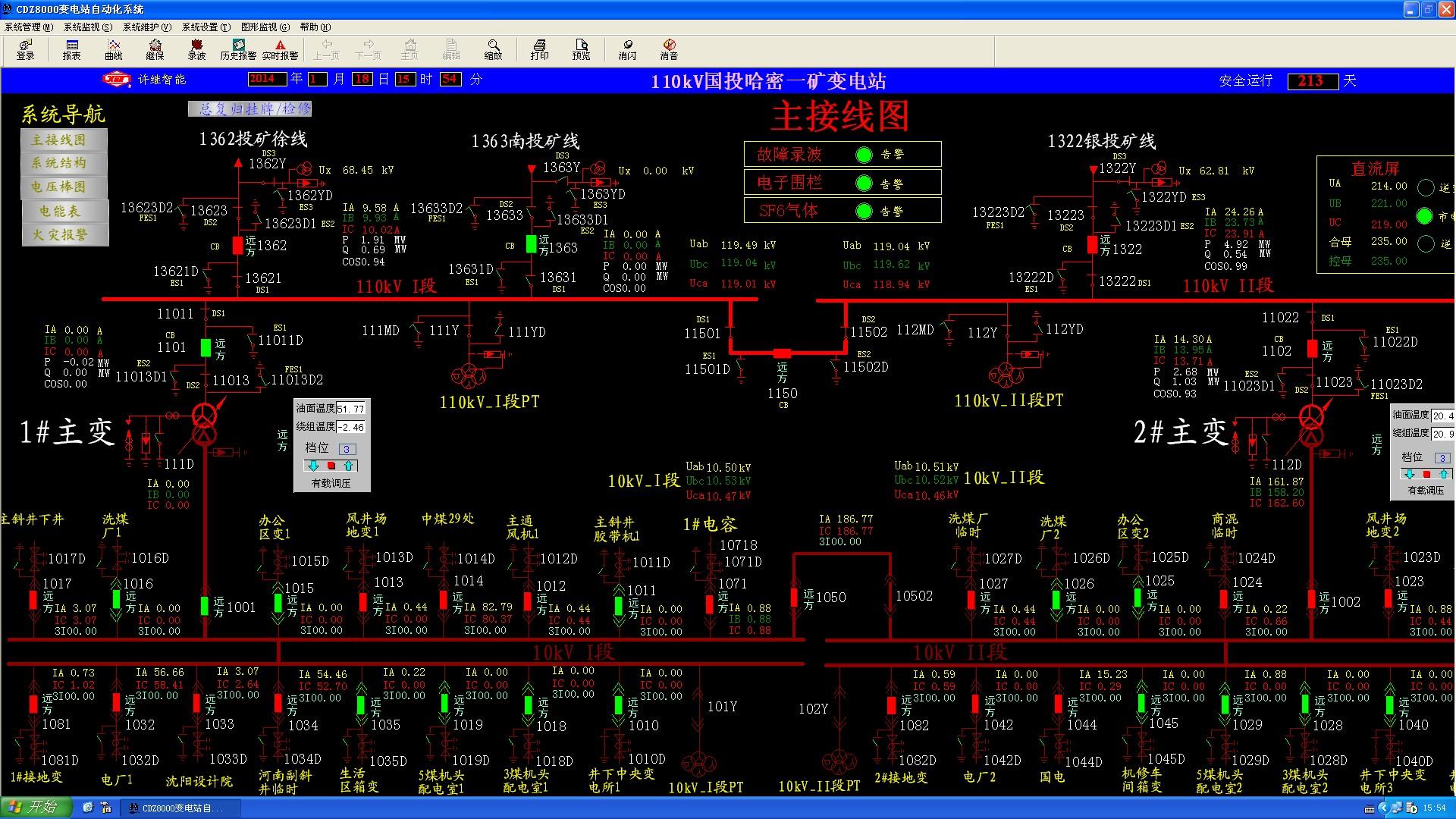 通过哈密±800千伏特高压变电站将每年370亿千瓦时的电量输送到中原